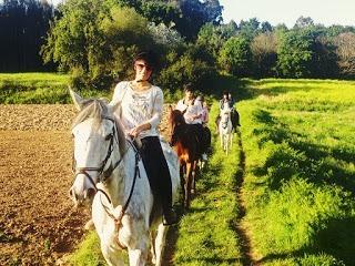 rutas a caballo en vigo